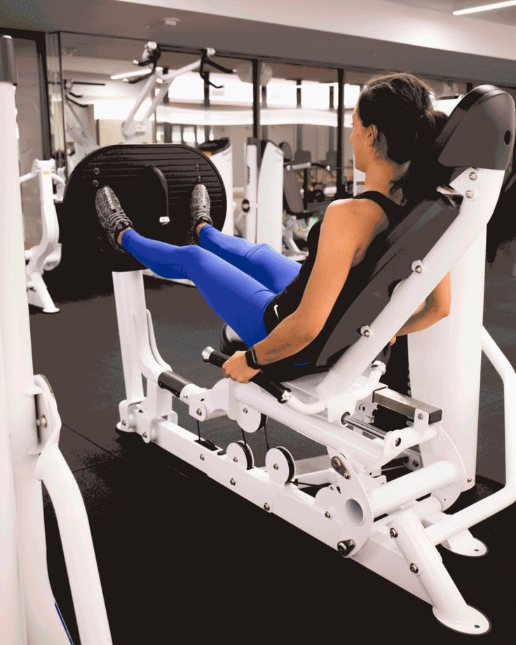 1. Horizontal Seated Leg Press #fitness http://greatist.com/move/best-gym-machines