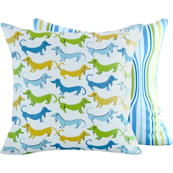 Throw Pillows Black Friday : Dachshund Decorative Pillow 16x16 40cm by ChloeandOliveDotCom, $29.00 All about ME Pinterest ...