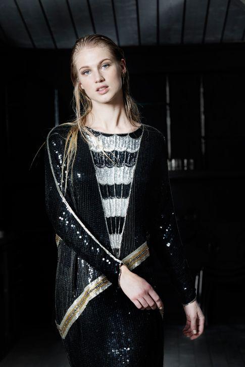 Vintage dress. sweden models
