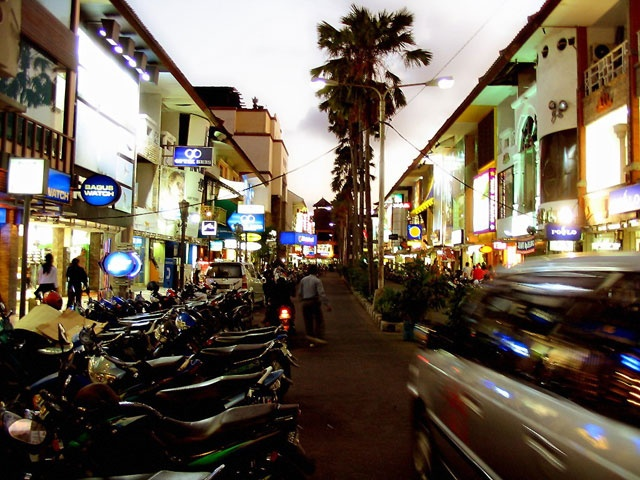 'Kuta Square' has a good shops for beachwear and flipflops    http://travelling-bali.com