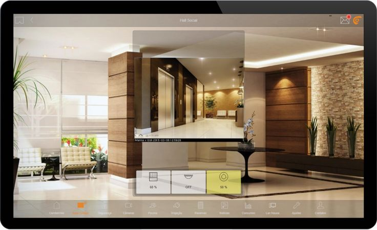 Check and control the Social Hall of your Building by Comfortclick. skype: danillobet