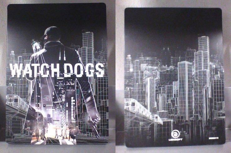 Watch Dogs  METAL CASE   ( PS4 )