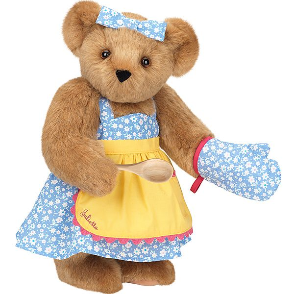 "15"" Cooking Bear from Vermont Teddy Bear. $79.99. #MothersDay"