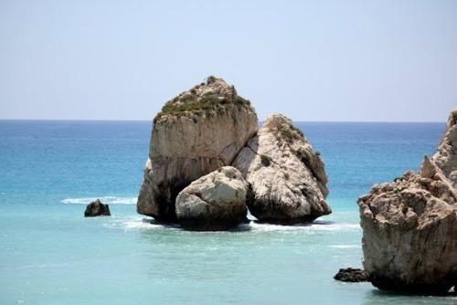 Paphos, Cyprus aphrodites rock, beautiful!