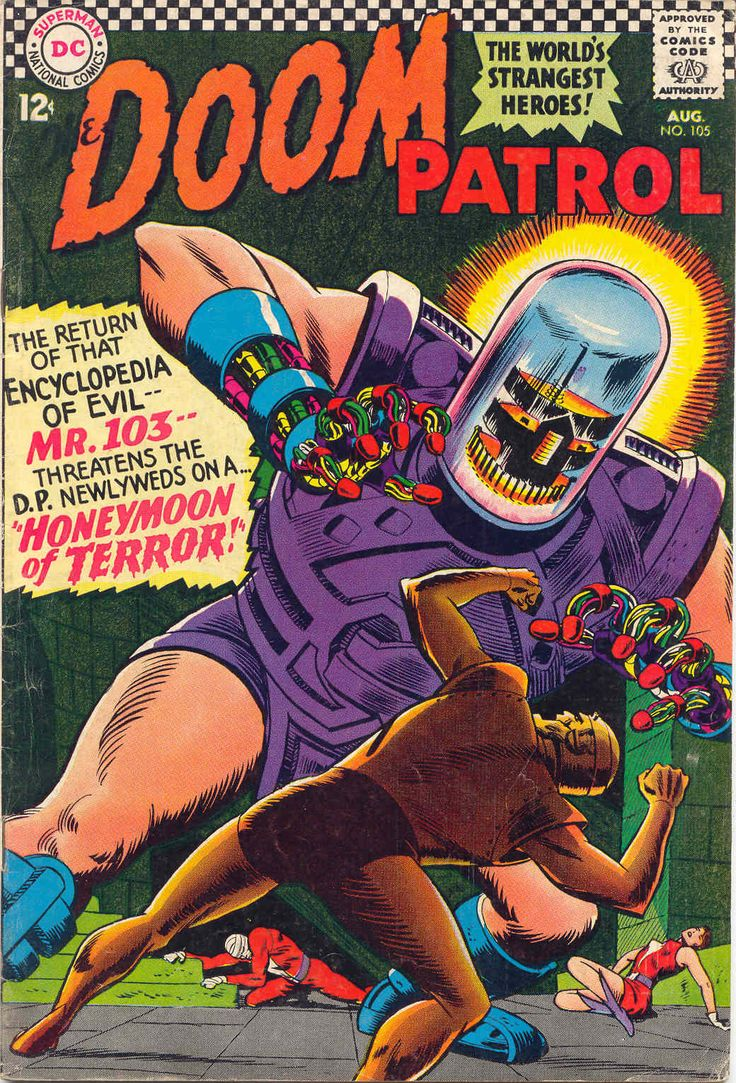 doom patrol was one of the best comics of the 1960s