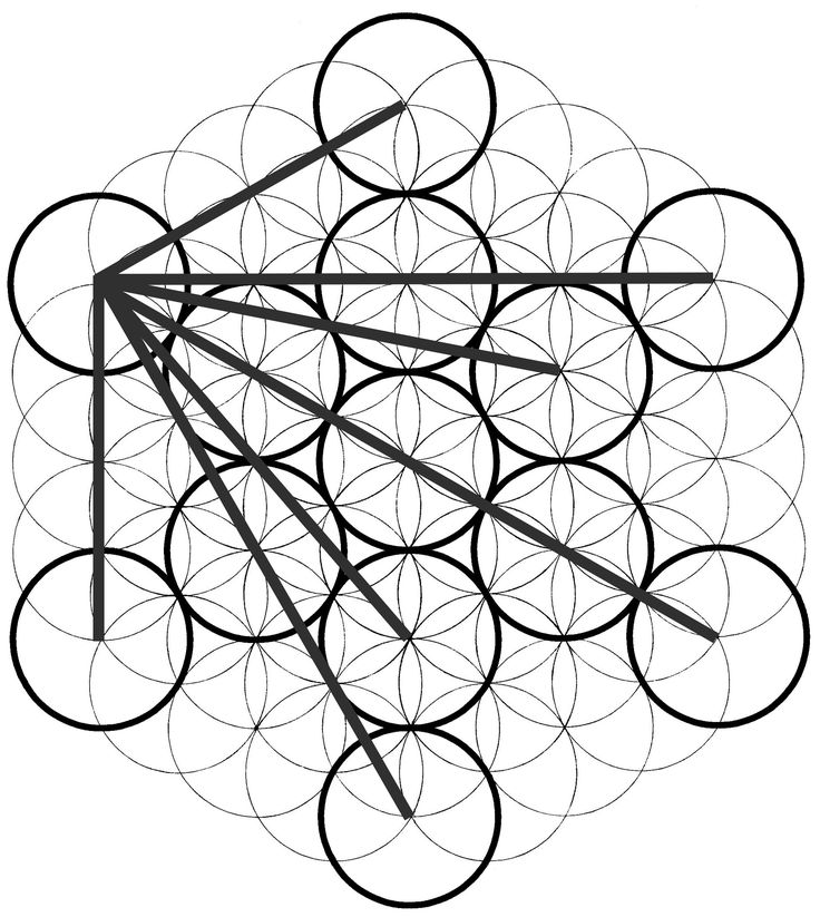 best 25  how to draw sacred geometry ideas on pinterest