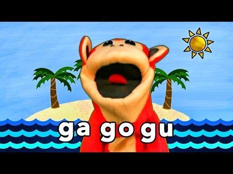 Sílabas ga go gu - El Mono Sílabo - Videos Infantiles - Educación para Niños # - YouTube