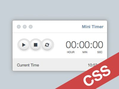 Download Mini Timer CSS