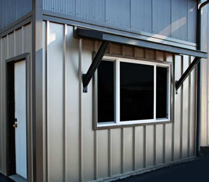 65 best corrugated metal siding images on pinterest for Metal board and batten siding