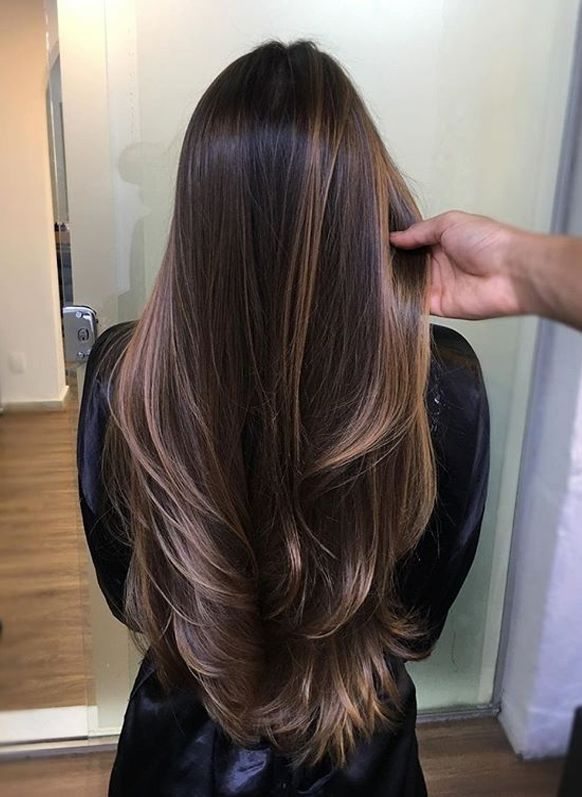 Gorgeous Chocolate Brown Hair Colors For Long Hair In 2019 Voguetypes In 2020 Long Hair Color Hair Styles Long Hair Styles