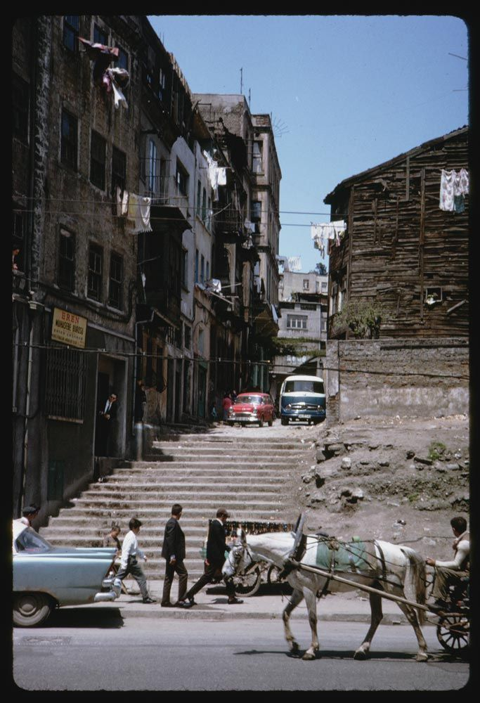 Meclis-i Mebusan Caddesi - Tophane 13 Mayıs 1965Charles W. Cushman Photograph Collection