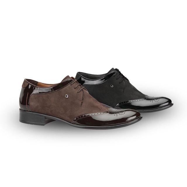 """Klasik modellerin """"klasik"""" tasarımına parlak ve mat dokuyu biraraya getirerek farklılık katan bir ayakkabınız olsun ister misiniz? #fashion #fashionable #style #stylish #polaris #polarisayakkabi #shoe #shoelover #ayakkabı #shop #shopping #men #manfashion #men #manfashion #AW15"""