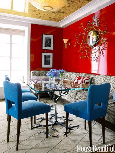 77 best paint it! red images on pinterest | red walls, red rooms
