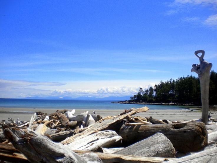 Tribune Bay, Hornby Island BC
