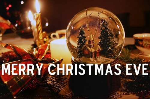 Merry Christmas Eve :)