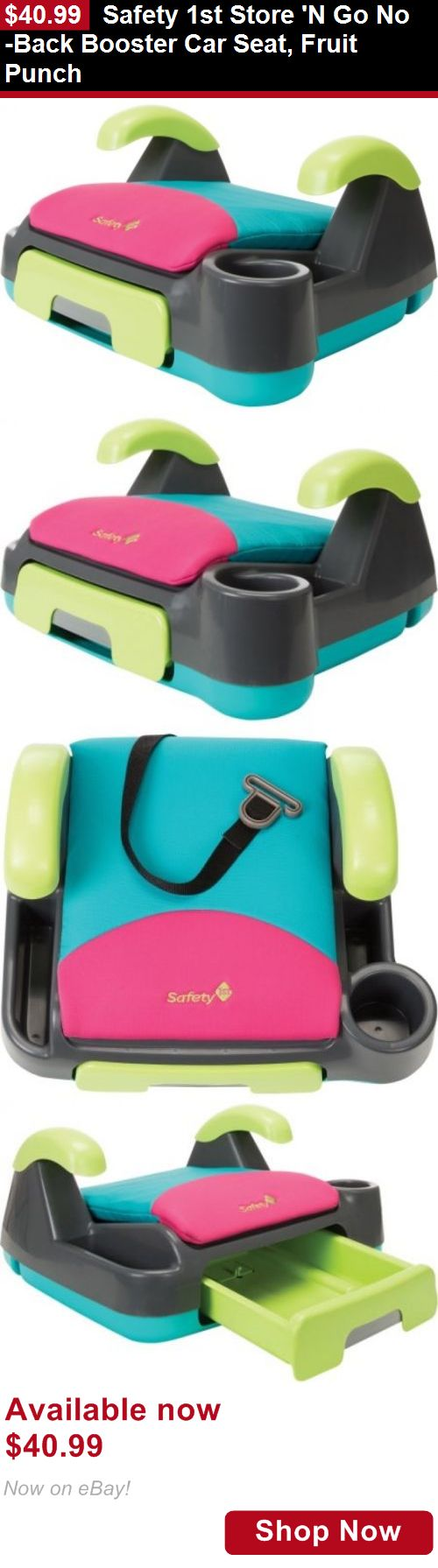 Booster Seats: Safety 1St Store N Go No-Back Booster Car Seat, Fruit ...
