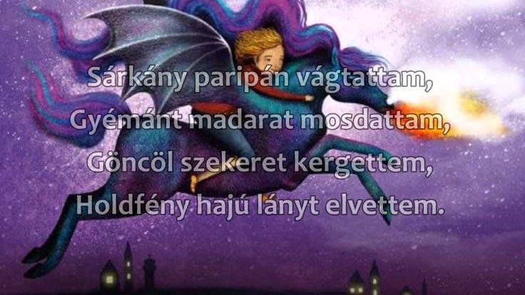 Weöres Sándor  Sárkányparipán vágtattam  Apagyi Béla zene, Gáspár Zsolt ...