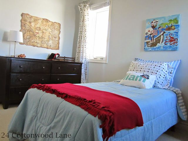 24 Cottonwood Lane  Boys Pirate Bedroom The 25 best pirate bedroom ideas on Pinterest