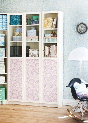 Relooking meubles papier peint
