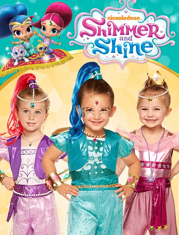 Make this Halloween magical with Shimmer and Shine costumes and accessories this Halloween!