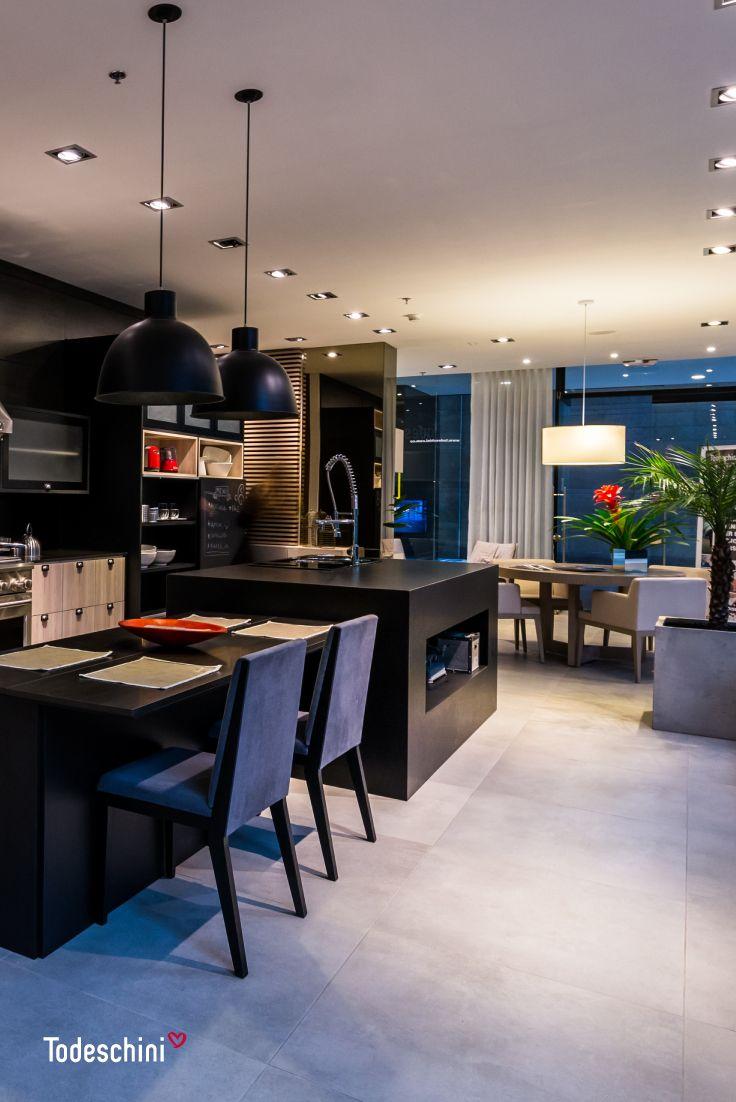 Cocinas industriales y modernas, que inspiran a preparar las mejores recetas. #Diseñodeinteriores #Decoración #Todeschini #ambientes #mueblesamedida #arquitectura #oficinas