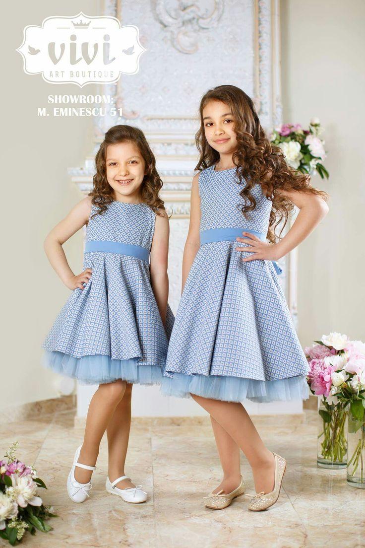 Dresses for girls by Vivi Art Boutique