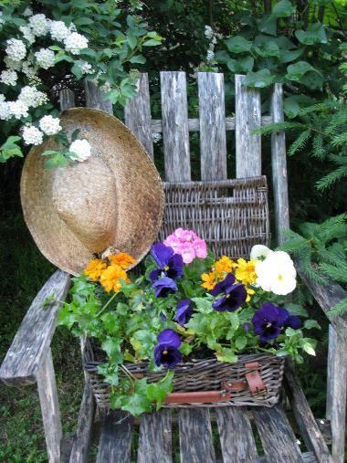 349 best salvage garden art images on pinterest