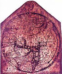 The Hereford Mappa Mundi. (View Larger)