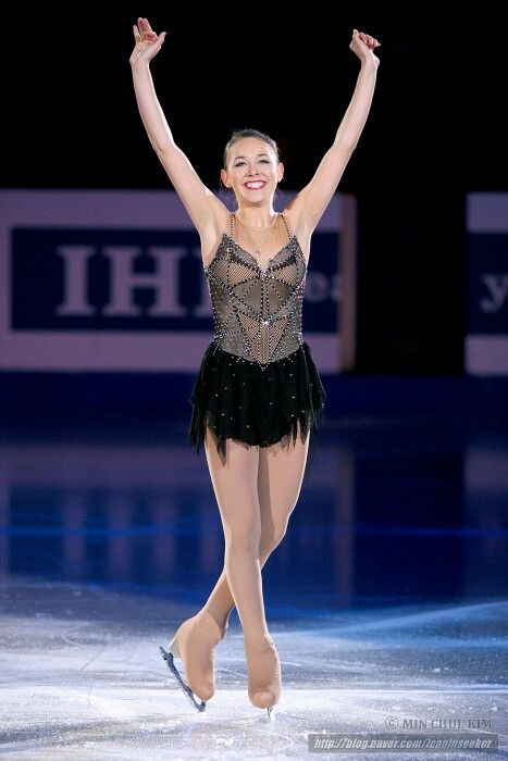 Kailani Craine in the 2015 Four Continents gala