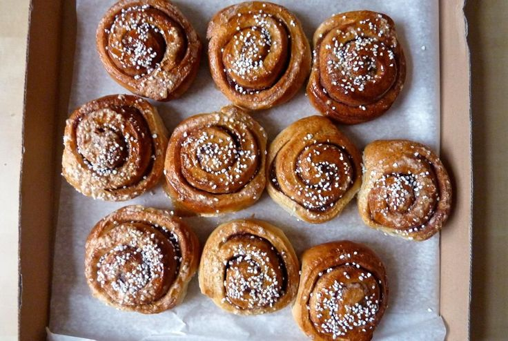 Scandinavian cinnamon rolls, Kanelbullar, are light, delicately spiced sweet breads that marry perfectly with a cup of coffee or tea.