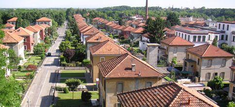 Il villaggio operaio sulle sponde dell'Adda
