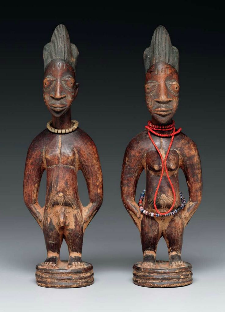 Africa Male and female figures