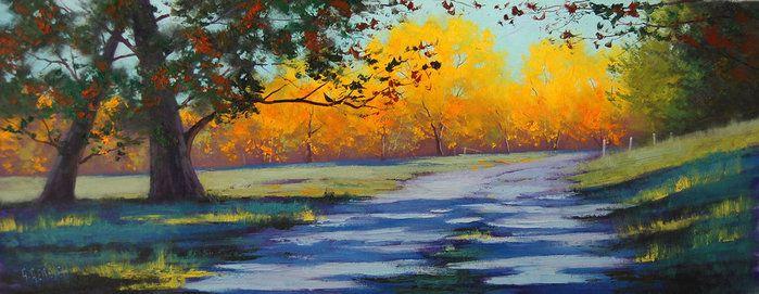 torrtue   Осенние пейзажи в живописи Graham Gercken