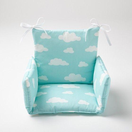Coussin de chaise haute Nuage