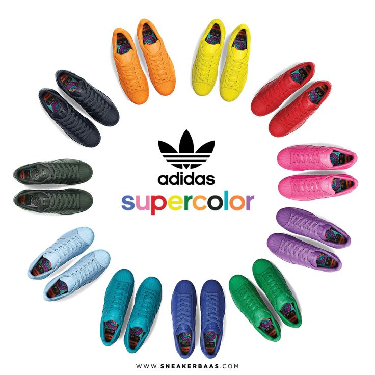 #adidasoriginals #pharrelwilliams #adidas #adidassuperstar #supercolor  #sneakerbaas #baasbovenbaas Adidas Superstar