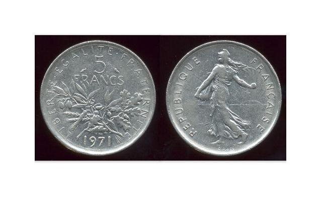 5 francs 1971