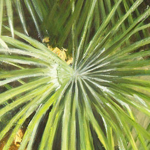 Green oil painting, green canvas art, tree wall décor, sceneries paintings, oil painting scenery, modern scenery art,  FREE SHIPPING #OilPaintingScenery