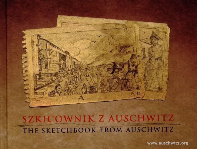 The Sketchbook from Auschwitz, a unique work preserved in the collections of the Auschwitz Memorial has been published by the Museum in its entirety for the first time in January 2012. It is the only set of drawings made in the camp depicting the extermination of Jews deported by German Nazis to Auschwitz. The unknown author documented in his drawings also murdering of prisoners who were sick or had been worked to exhaustion.