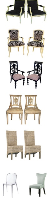 Great chairs inc vintage. Ends Saturday. Chairs  From $99