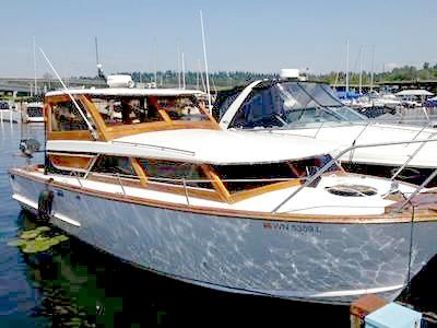 1966 Owens Classic, Gorgeous, 28 foot Cabin Cruiser