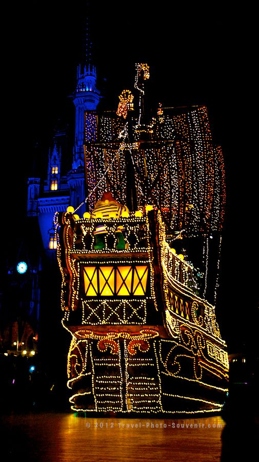 Pirate Ship On The Road, Disneyland Tokyo, Japan; @INDI Design Holliker can we take a ride on this!