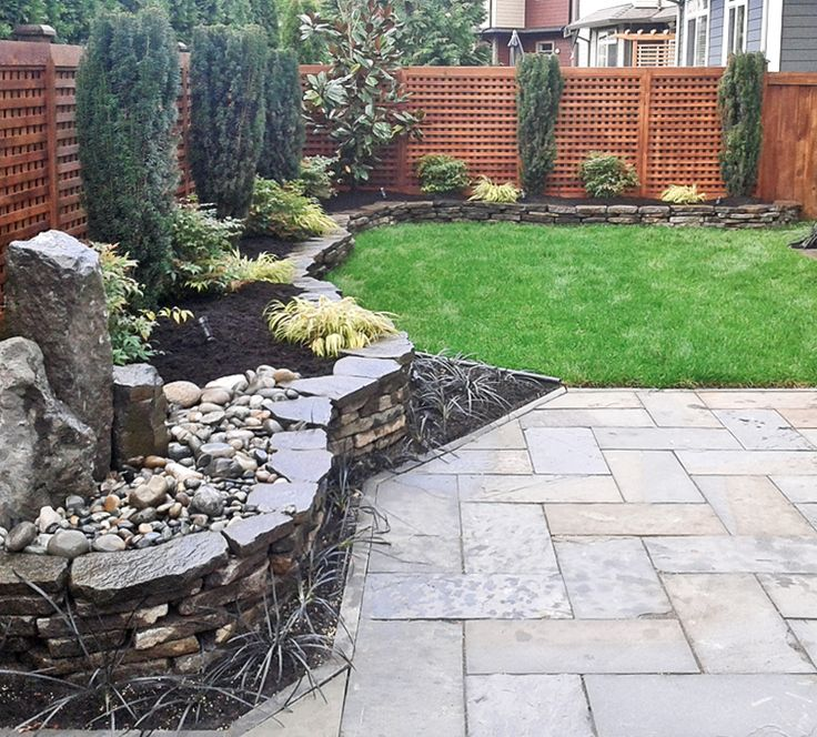 Stone Wall By Scottys Landscaping White Rock BC ScottysLandscaping