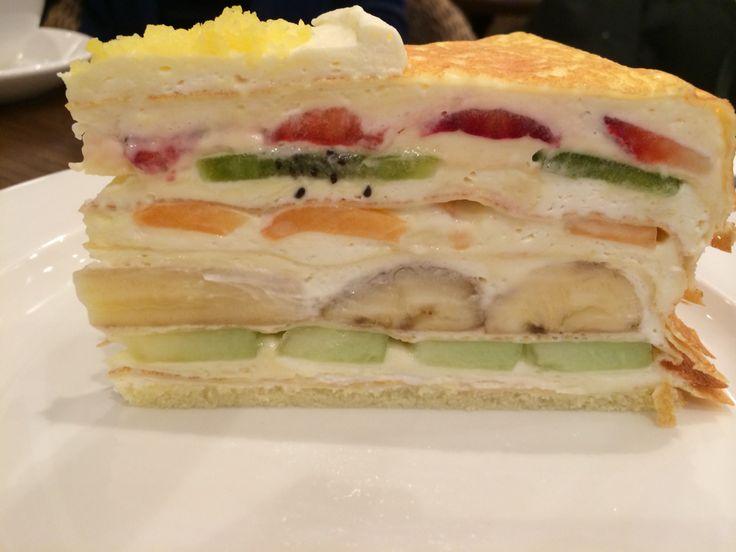 Japanese Crepe Cake Nyc