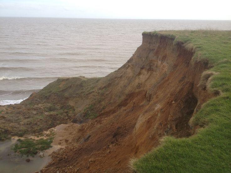 Naze cliffs