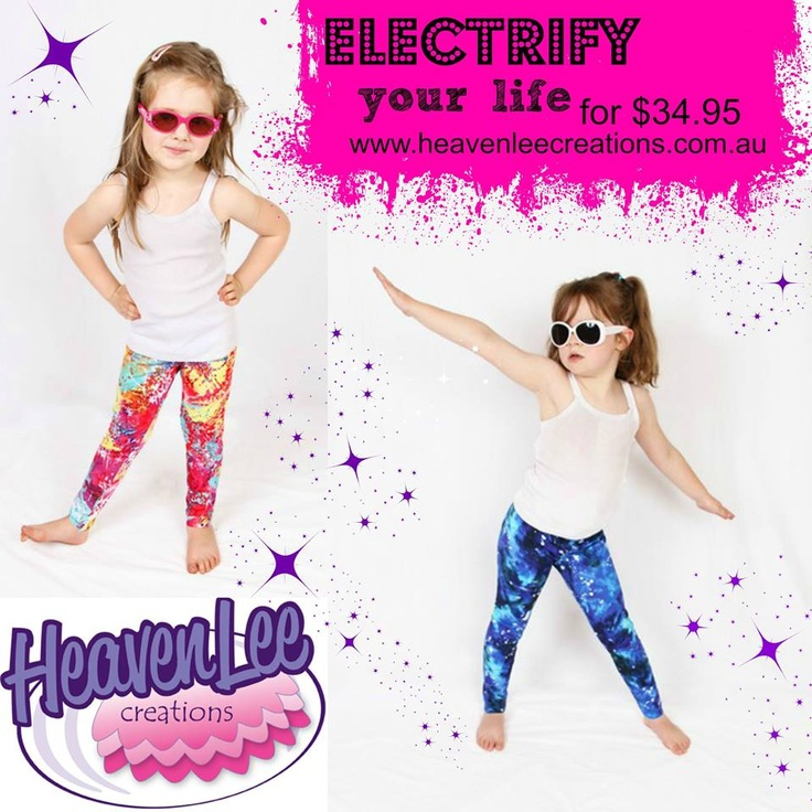 Electrify your life with some Electric Leggings! $34.95