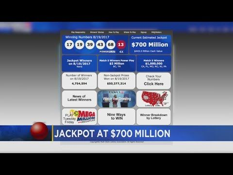 $700M Powerball Drawing Is Tonight - (More info on: https://1-W-W.COM/lottery/700m-powerball-drawing-is-tonight/)