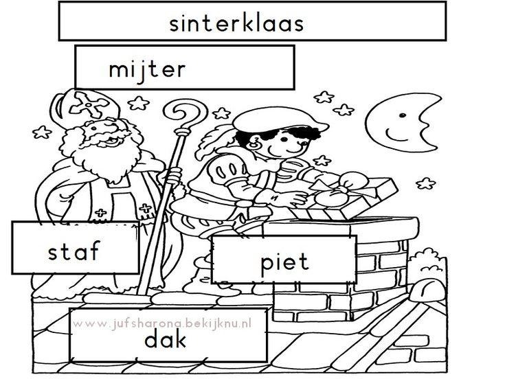 Sinterklaas stempelen groep 1/2