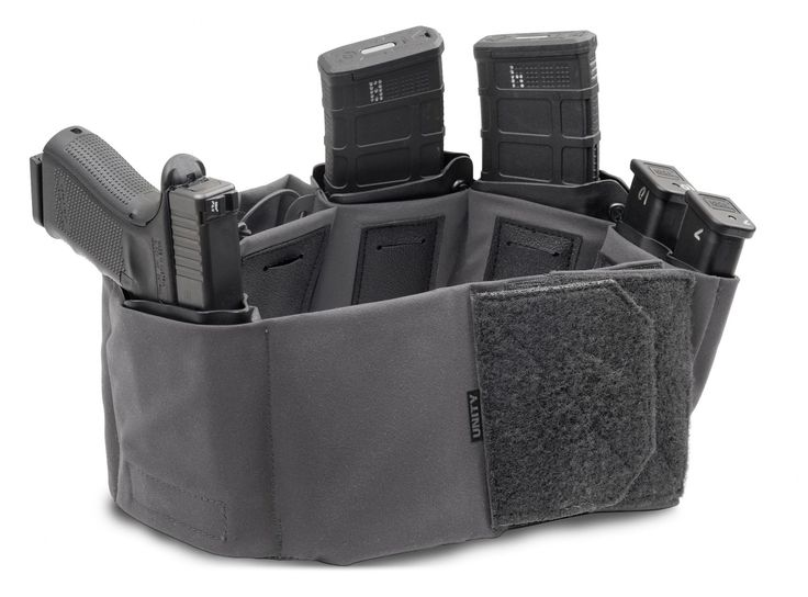 Very interesting set up...so many options. Unity Tactical, who has produced the EXO Mount for Surefire weapon lights and the Monkey Bar MBUS Pro Offset mount has a new product hitting the market–a sort of cummerbund battle belt pouch system. I know right? Kind of a strange idea, though not an entirely new concept–kind of similar to the Das Ding (or … Read More …