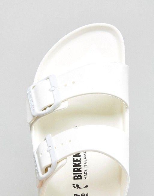 Sandalias planas blancas de goma EVA Arizona de Birkenstock   35,99 €   960390