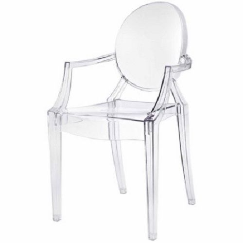 Combine artistic endeavors into a unified vision of harmony and grace with the etherealGhost Side Dining Armchair. Allow bursts of creative energy to reach every aspect of your contemporary living space as this masterpiece reinvents your surroundings. | eBay!